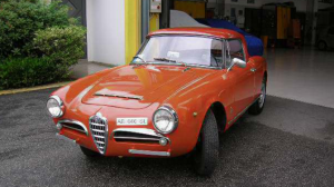 Alfa Romeo Restaurata a Brescia