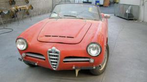 Restauro auto d'epoca a Brescia